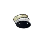 Rowmark Identifiers Oval Badge Frame