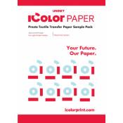 iColor Presto! Sample 'A' Textile Transfer Media Pack