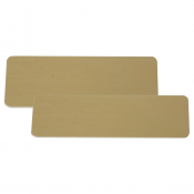 Image Maker Satin Gold Brass .020 Blank