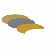 "Image Maker 1.55"" x 2.385"" Dynasub Aluminum Oval"