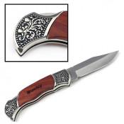 LaserBits Rosewood DecoGrip Hunting Knife