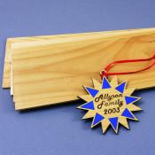 """4"""" x 24"""" Alderwood Laserable Wood Sheet"""