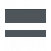 "Rowmark LaserMax Smoke Grey/White 1/16"" Engraving Plastic"