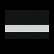 """Rowmark LaserMax® Black/Silver 1/16"""" Engraving Plastic"""