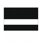 "Rowmark LaserMax Gloss Black/White 1/16"" Engraving Plastic"