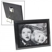 Black Marble Plaque With Stand