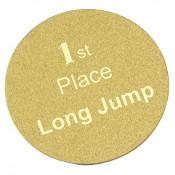 "LaserFrost Gold 2"" Circle"