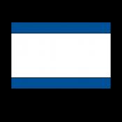 "Norplex Blue/White/Blue 1/16"" Phenolic"