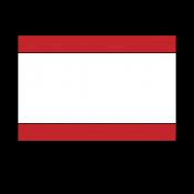 "Norplex Red/White/Red 1/16"" Phenolic"