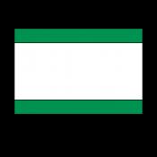 "Norplex Green/White/Green 1/16"" Phenolic"