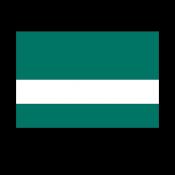 Rowmark LaserGloss Exterior Pine Green/White Engraving Plastic