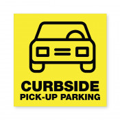 JPPlus Curbside Pick-Up Parking Ready Made Sign