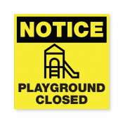 JPPlus Playground Closed Ready Made Sign