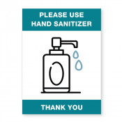 JPPLUS Sanitizer Ready Made Sign