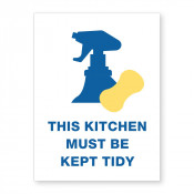 JPPLUS Clean Kitchen Ready Made Sign