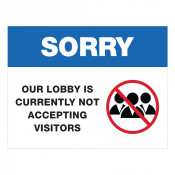 JPPLUS Closed Lobby Ready Made Sign