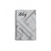 Glossy A4 Plastic Cover Notebook with Paper
