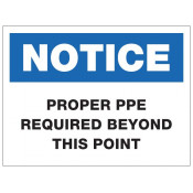 JPPLUS PPE Required Ready Made Sign