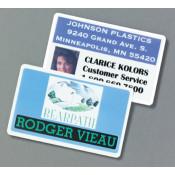 "IPI White CR80 .030"" Print Receptive Blank PVC Card"
