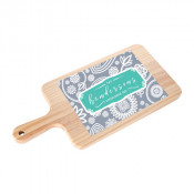 Rectangular Cheese Board With Ceramic Tile Insert