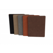 "Saddle Collection 9.5"" x 12"" Laserable Leather-Like Portfolio"