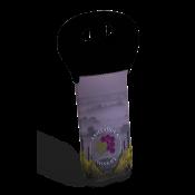 Neoprene Wine Tote With Black Handle