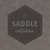 "Saddle Collection Iron Gray 12"" X 24"" Leather-Like Sheet"