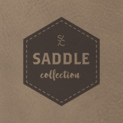 "Saddle Collection Buckskin 12"" x 24"" Leather-Like Sheet"