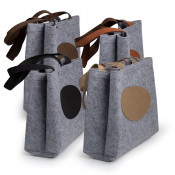 Saddle Collection Flannel Travel Tote