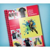 Artwork for White Toner Transfers Instruction Book