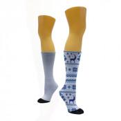 """11"""" Length Dark Tube Sock"""