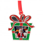 Metal Holiday Gift Ornament