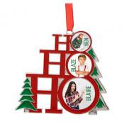 Metal Holiday Tree Ornament