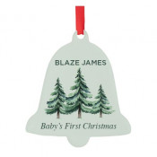 Acrylic Bell Ornament