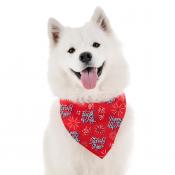 White Dog Bandana