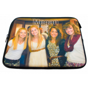 Universal Black Zippered Sleeve Case for Tablet (1-Sided)