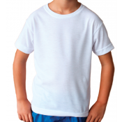 Vapor Toddler White Basic Tee