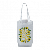"White 14-3/4"" x 11-3/4"" Tote Bag"