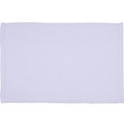 White Microfiber Velour Towel