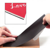 "12"" x 24"" .025"" Magnetic Sheet with Adhesive"