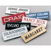 "Scott 1"" x 3"" Name Badge With Square Corners"