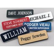 """Scott 1"""" x 3"""" Name Badge With Round Corners"""