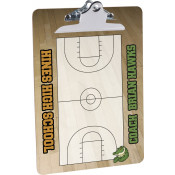 """Unisub 9"""" x 12-1/2"""" 2-Sided Clipboard with Standard Clip"""