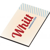 "Unisub White 2"" x 3"" Hardboard with Magnet"