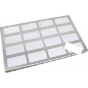 "Unisub 8.5"" x 14"" Jig for (16) UN5786, UN4001 Name Badges"
