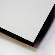Unisub ChromaLuxe White Textured MDF Wood Photo Panel