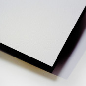 Unisub ChromaLuxe White Textured Hardboard Photo Panel