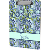 """Unisub 9"""" x 15-1/2"""" 2-Sided Clipboard with Flat Clip"""