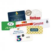 Unisub White Plastic (FRP) Name Badges