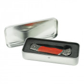 Brushed Tin Knife Box
